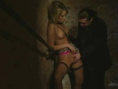 Engulfing and fucking in the stairwell