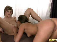 Beauty and Amirah are undressed an
