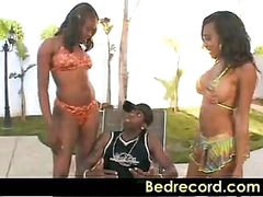 Big Wazoo Pool Party Lacey DuValle and Nyeema Knoxxx part 1