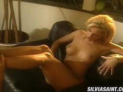 Sexy Golden-haired Caroline Cage Takes Her Mans Schlong To So Much Joy In Her Face hole