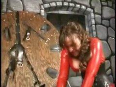 Extreme female-dominator women perverted balls punishment