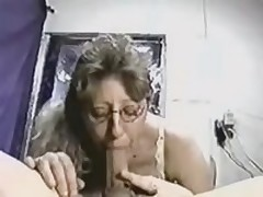 Intelligent cocksucker gives her nice-looking head to her lover, who possesses really large and rock hard instrument, which that babe can't live without so much.
