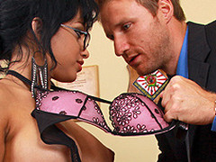 Career hopeful Abella Anderson has just been hired as Levi Specie's secretary. That Babe's not at any time worked in advance of but the interview was a breeze so how hard could the job possibly be? The answer may surprise u! Drubbing and other office don't s ensue.