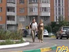 2 women wet their pants and pants