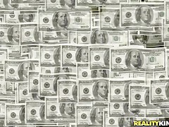 Money Talks gives us another interesting episode about pretty honeys that are in need of some serious cash. Those harlots are ready to do anything they are asked as lengthy as the amount of specie is right. Have a joy watching that sexy playgirl with lengthy black hair screwed from behind by a sex machine? Then stay tuned!